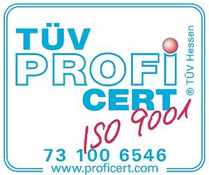 SciMo ISO9001 Zertifizierung