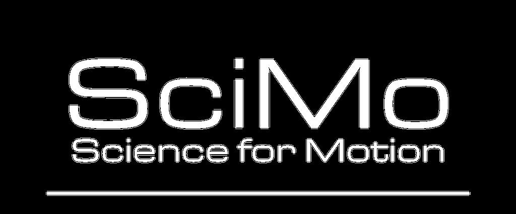 SciMo logo - Weiße Schrift