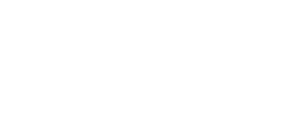 SciMo logo - white font